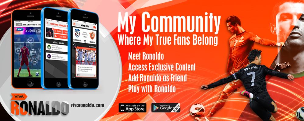 Ronaldo lança plataforma digital com conteúdos exclusivos